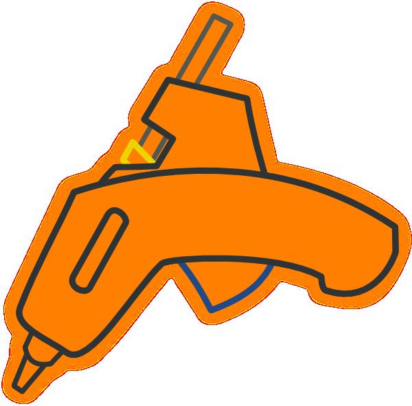 600x591 Glue Gun Tango Icon Clip Art