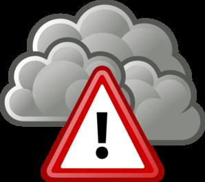 298x264 Tango Weather Severe Alert Clip Art