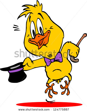 365x470 Dancing Chicken Clipart