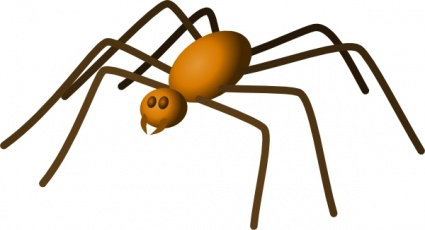 425x230 Hanging Spider Clipart Clipart Panda