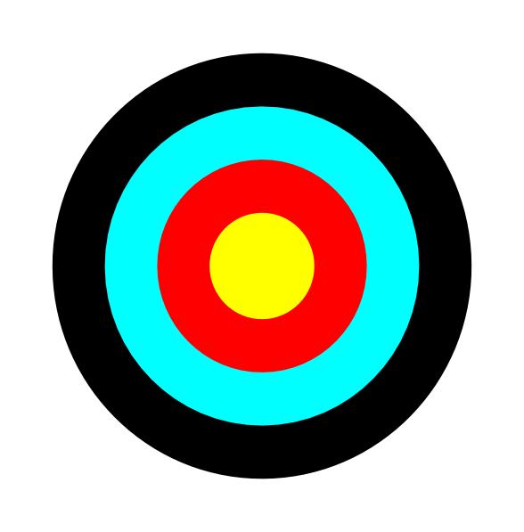 588x597 Image Of Bullseye Clipart