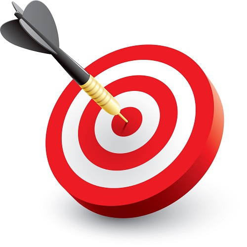 500x500 Image Of Target Clipart