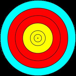 300x300 87 Target Clip Art Bullseye Public Domain Vectors