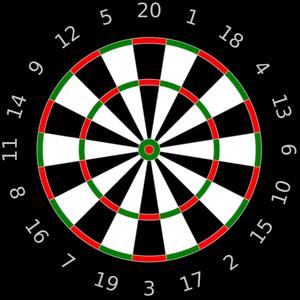 300x300 Smart Ideas Bullseye Clipart 87 Target Clip Art Public Domain