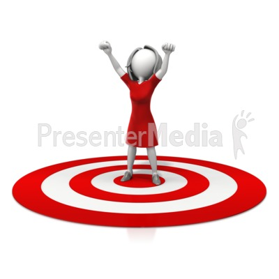 400x400 Target Clipart Animated
