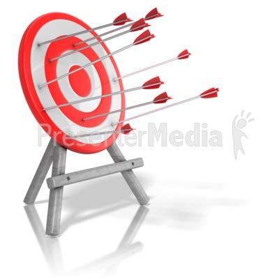 400x400 Arrow Target Inconsistency