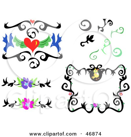 450x470 Royalty Free (Rf) Clipart Illustration A Digital Collage