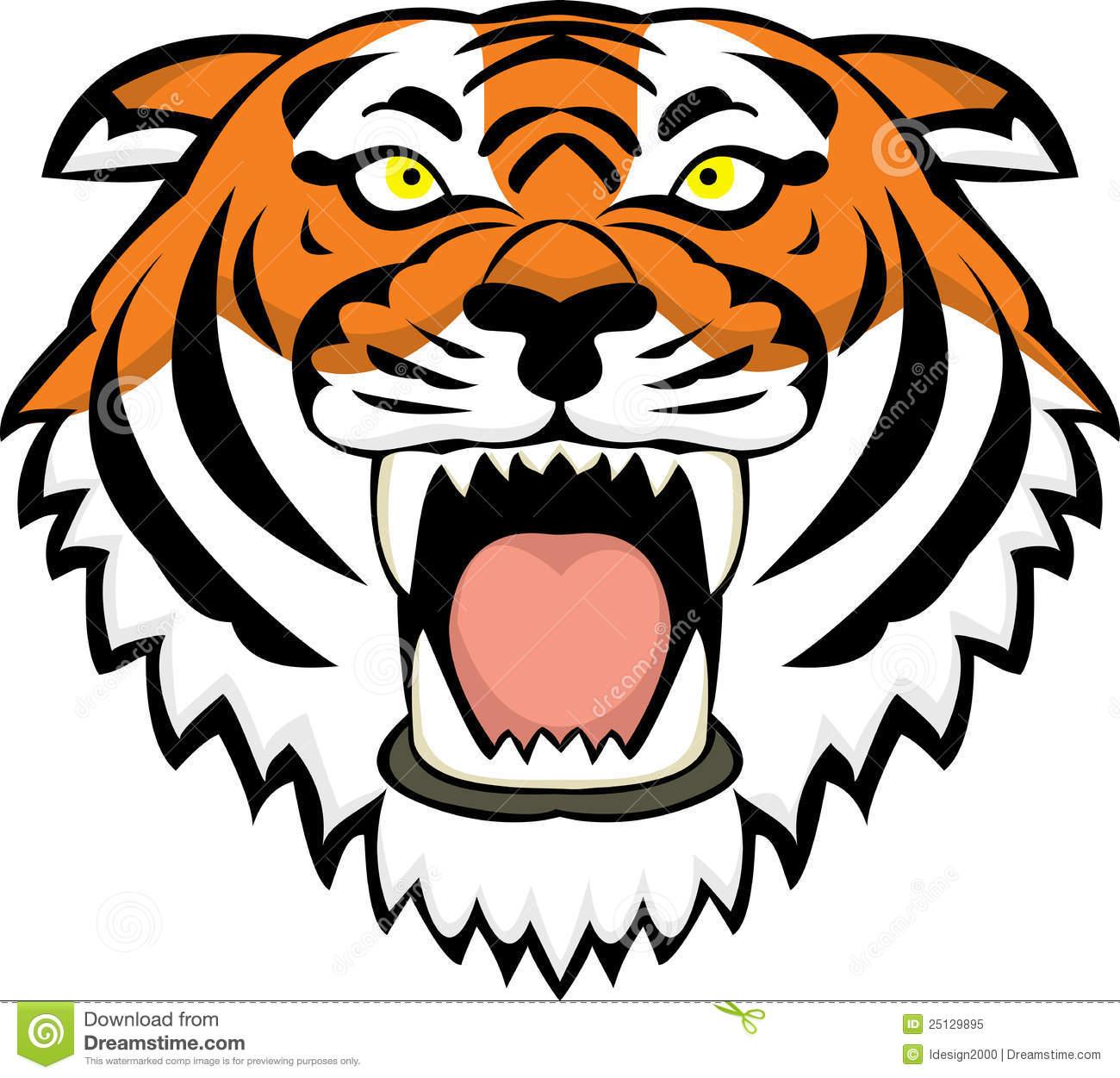 1300x1251 Tiger Head Clipart Tiger Face Clip Art Color Tiger Head Tattoo