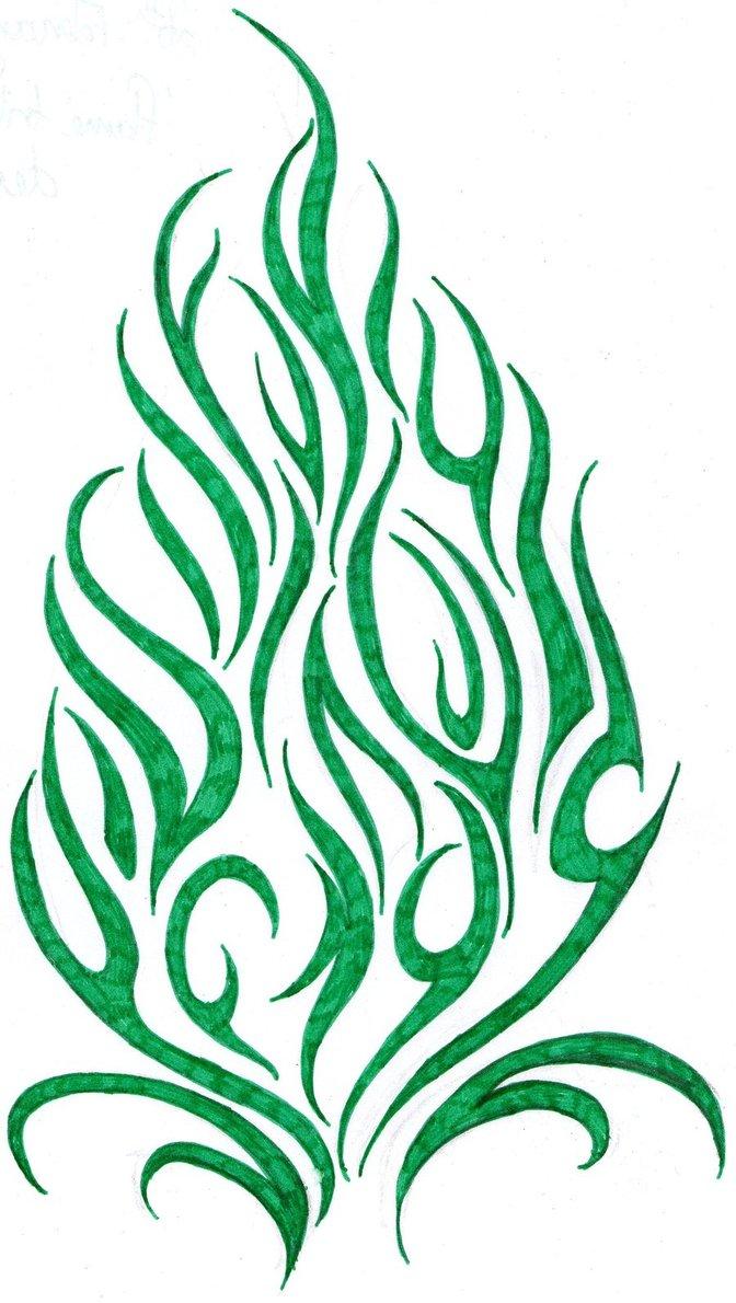 672x1190 Fire Tribal Tattoos Free Download Clip Art Free Clip Art