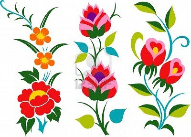 736x528 Flower Design Clipart