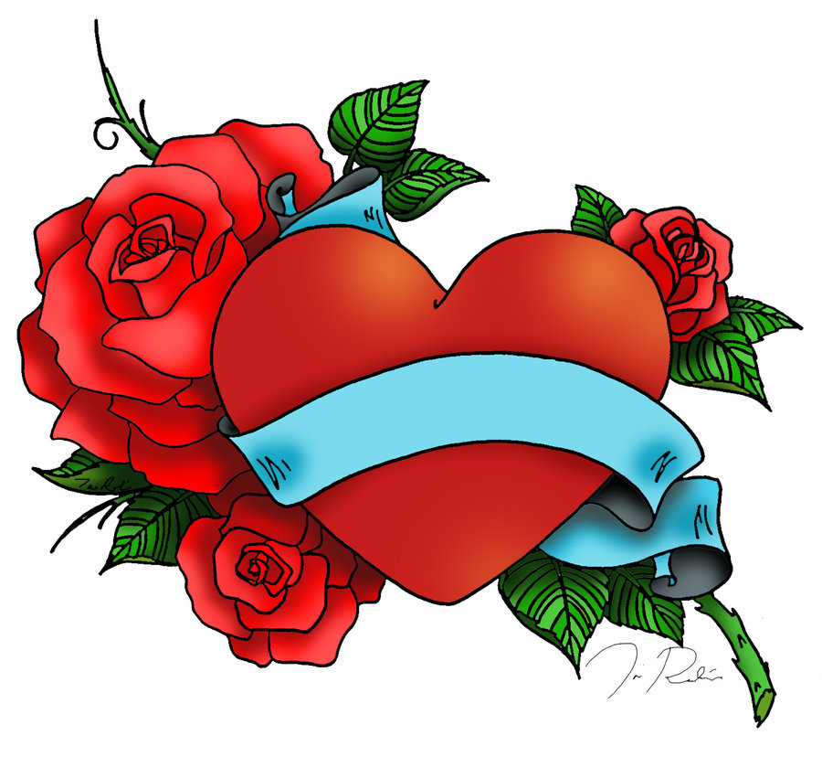900x828 Collection Of Heart Tattoo Cliparts