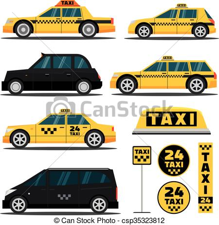 450x463 Modern And Classic Taxi Cars. Modern And Classic American