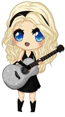 267x481 Taylor Swift Chibi Blackboard Chibi, Taylor Swift