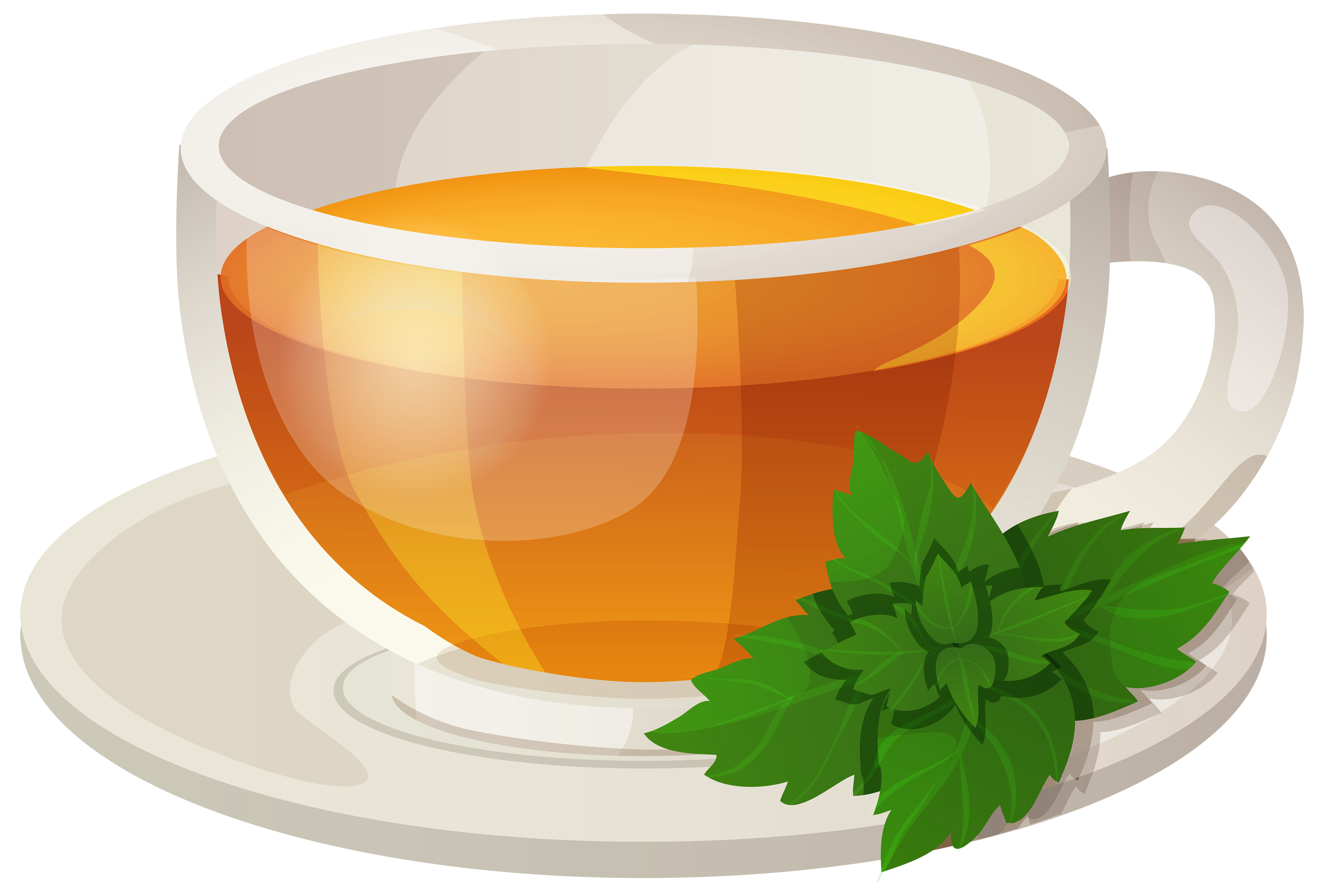 4000x2708 Cup Of Tea Png Clipart