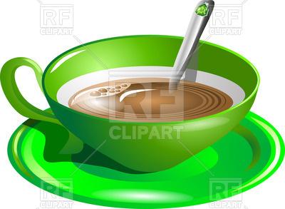400x293 Cup Of Tea Royalty Free Vector Clip Art Image