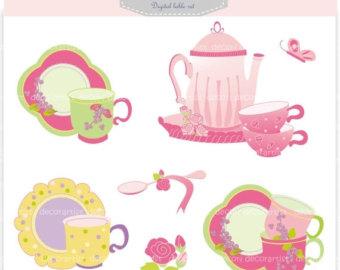 340x270 Cup Of Tea Clip Art Etsy