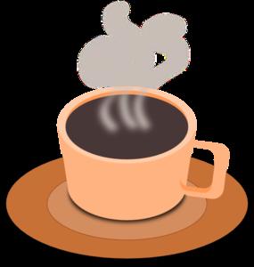 285x300 A Cup Of Hot Tea Clip Art