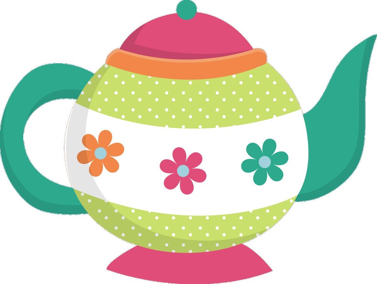 1200x902 Vintage Kitchen Clip Art Tea Kettle And Coffee Pots Graphics