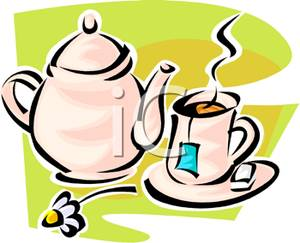 300x243 Clip Art Image A Teabag In A Cup Of Tea