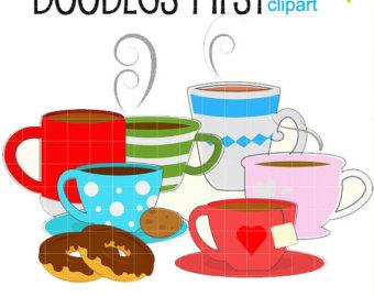 340x270 Coffee Tea Clipart Etsy