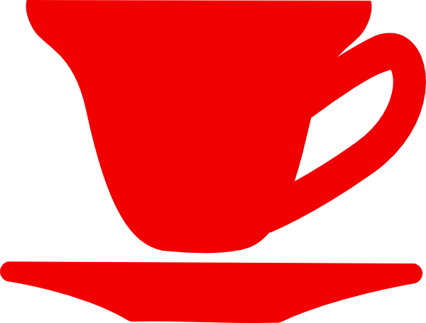 600x456 Red Jubilee Tea Cup Clip Art Clipart Panda