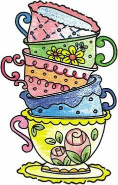 236x371 52 Awesome Stacked Coffee Cups Clipart Tea Cupsowlscoffee