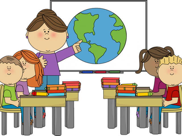 640x480 Teacher And Students Clipart Free Download Clip Art
