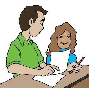 287x285 Teacher Helping Student With Reading Clipart Printable And Formats