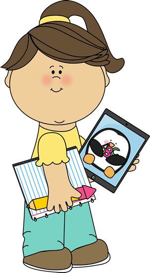 303x550 Technology Kids Clip Art