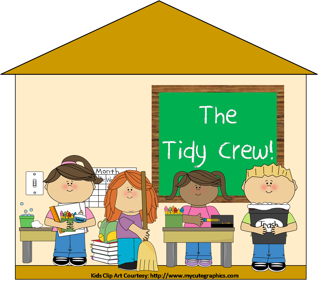 1080x958 Child Clipart Cleaning Classroom