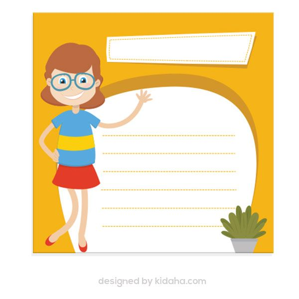 600x600 Free Girl Student And Blank Paper, Education Clip Arts For Kids