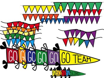 350x263 Go Team! Score! Sports Clip Art By Ox And Emu Teachers Pay Teachers