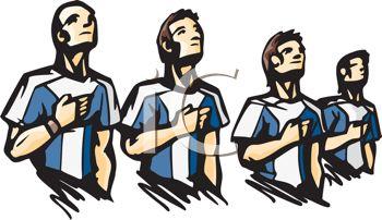350x202 Royalty Free Clip Art Image Soccer Team