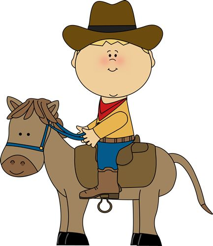 433x500 Cowgirl Clipart Riding Horse