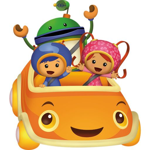 Team Umizoomi Clipart