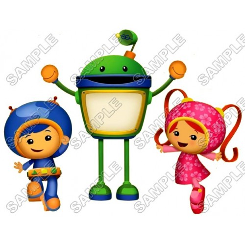 500x500 Team Umizoomi T Shirt Iron On Transfer Decal