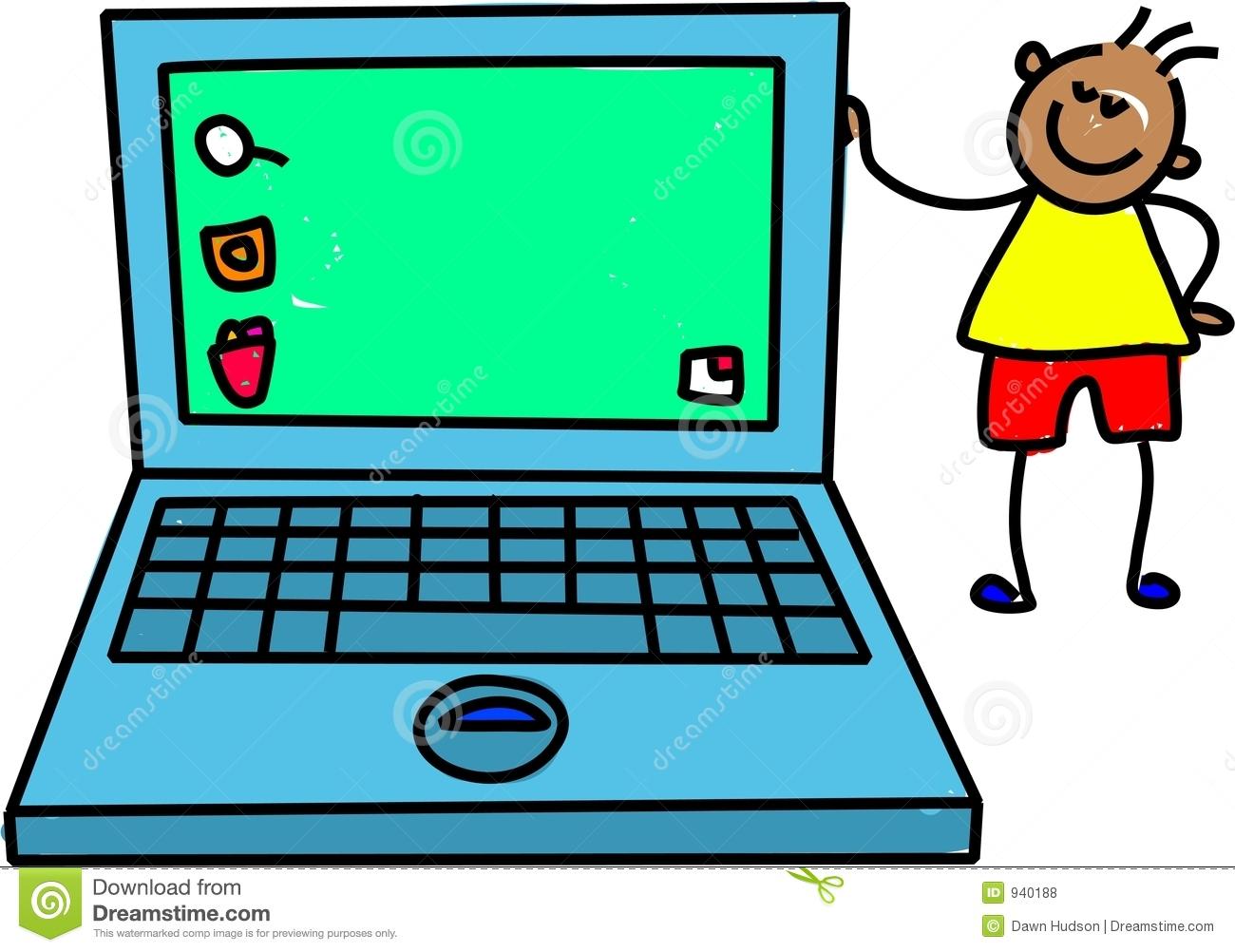 1300x1002 Laptop Clipart Kid Laptop