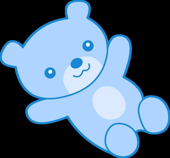550x511 Cute Blue Teddy Bear Clipart Free Clip Art