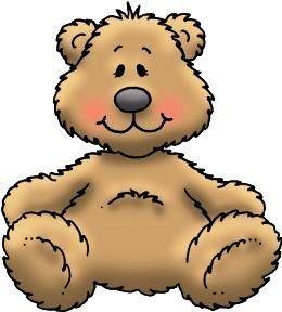 260x288 Line Art Clipart Teddy Bear