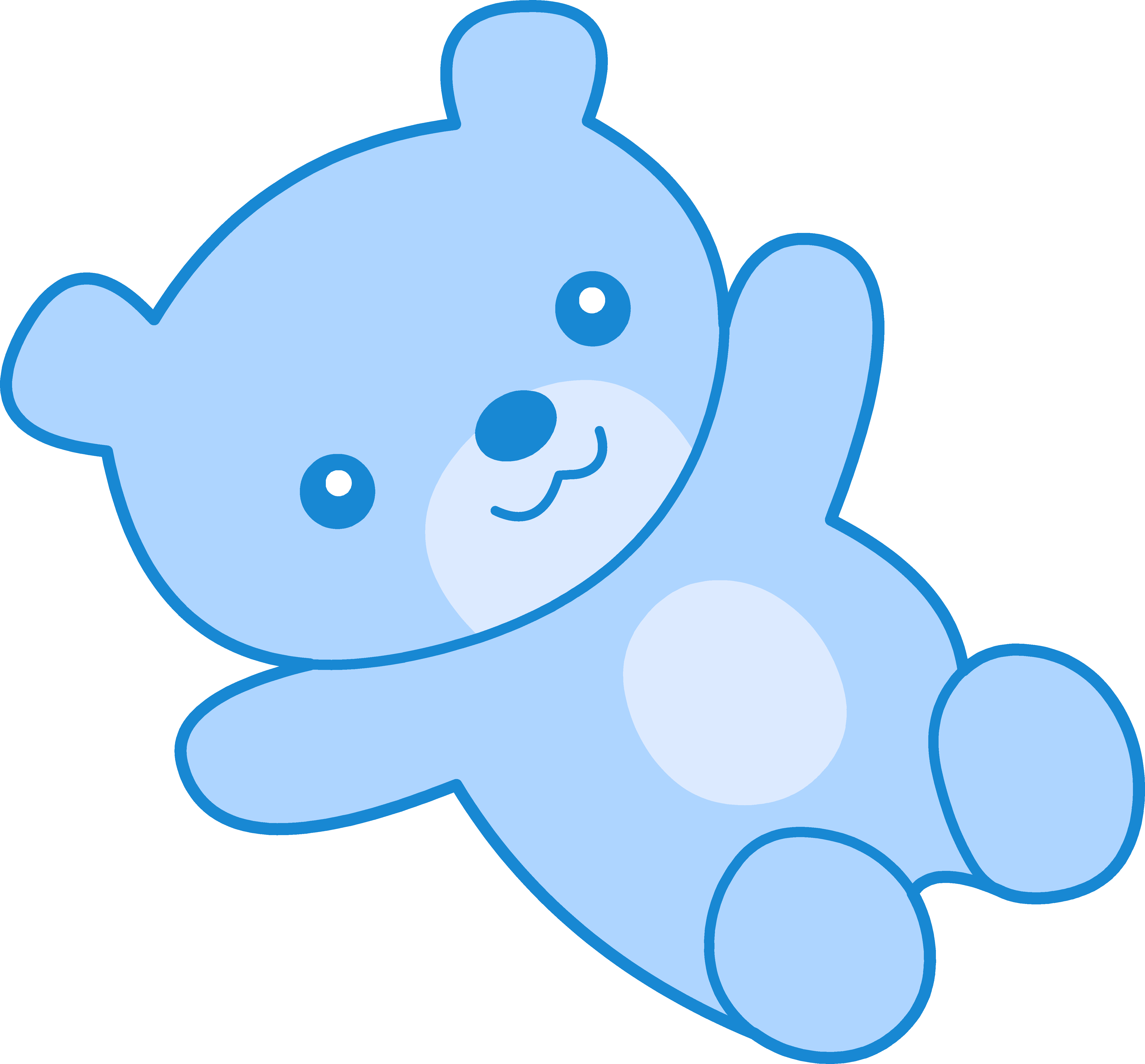 5120x4760 Collection Of Blue Teddy Bear Clipart High Quality, Free