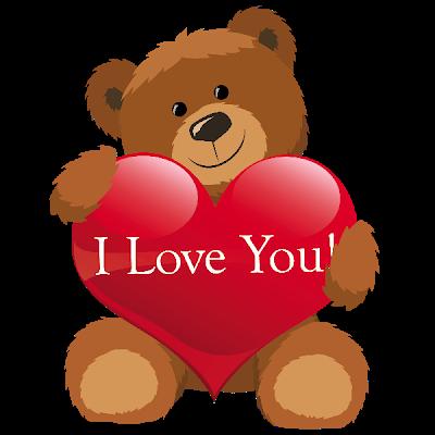 400x400 Valentine's Day Bear Clipart