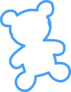 230x297 Collection Of Blue Teddy Bear Clipart Png High Quality, Free