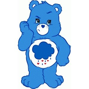 300x300 Collection Of Grumpy Bear Clipart High Quality, Free