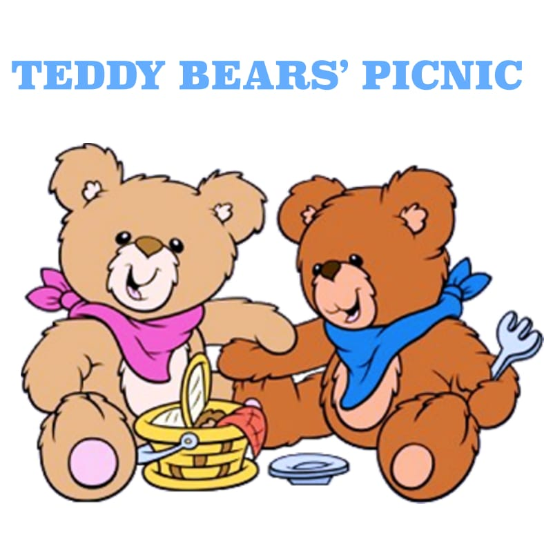 788x788 Wed 25th July Teddy Bear's Picnic Party On A Cloud