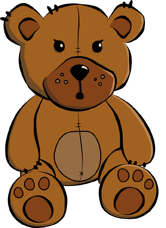 582x800 The Top 5 Best Blogs On Teddy Bear In Bed Clipart