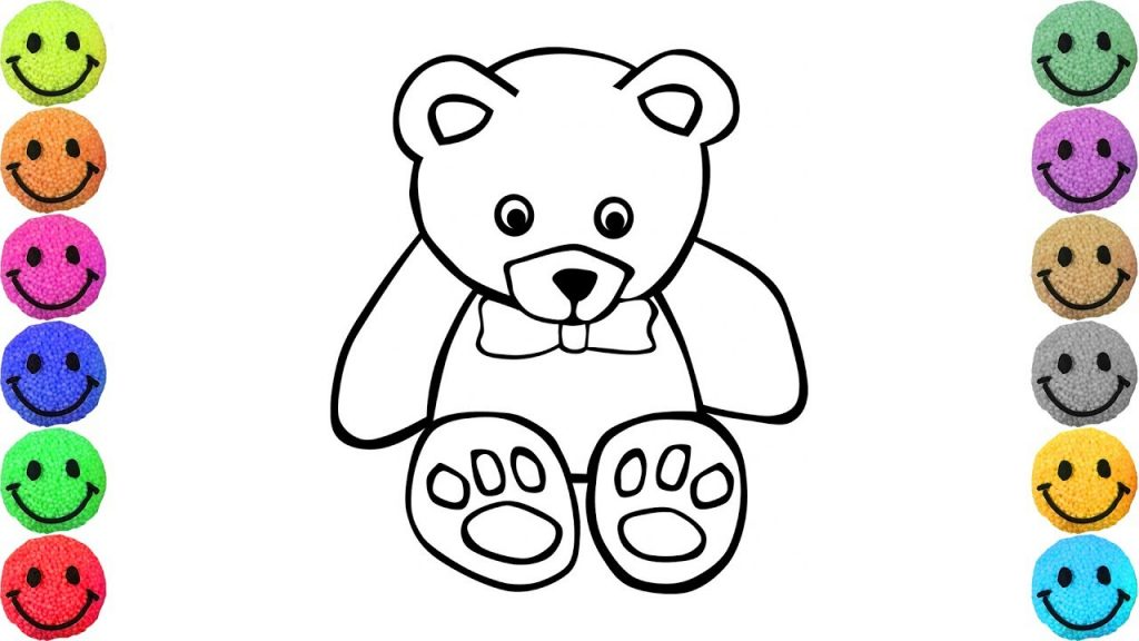 1024x576 Coloring Book And Pages ~ Shocking Superb Day Teddyar Coloring