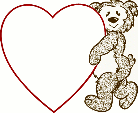 440x361 Cute Teddy Bear Clip Art Classroom Cards, Teddy