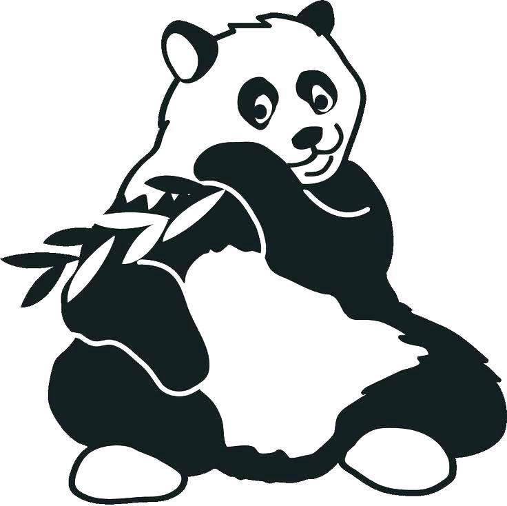 736x734 Panda Bear Coloring Pictures Printable Panda Bear Coloring Sheets
