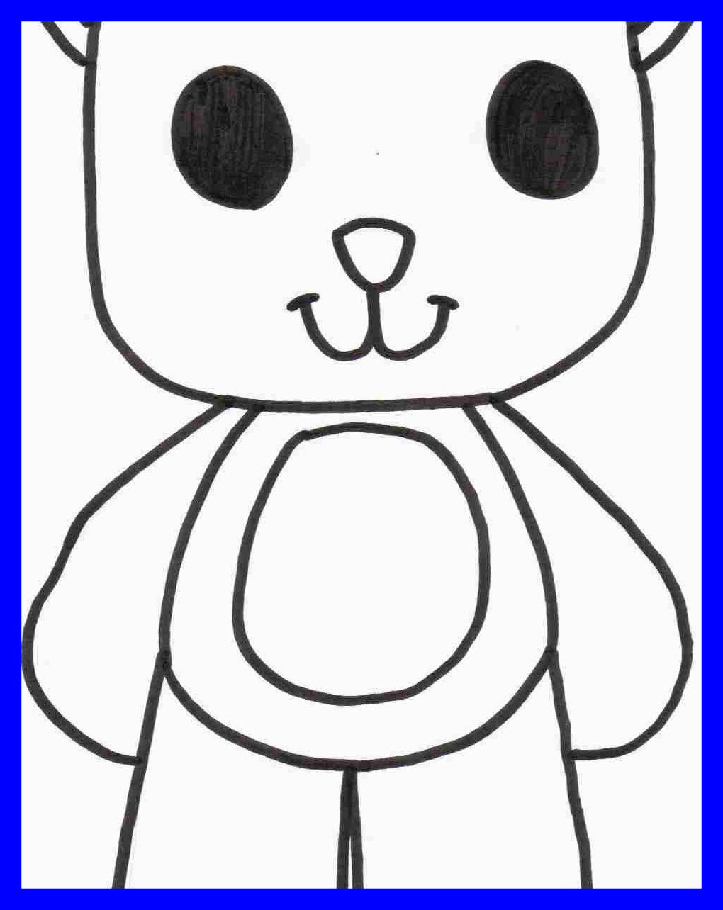 1020x1284 Amazing Large Teddy Bear Coloring Page Alltoys Printable Cartoons