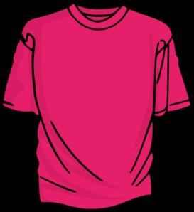 273x298 Pink T Shirt Clip Art